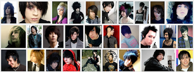 model gaya rambut emo pendek dan panjang pria dan wanita 10