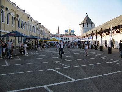 Площадка у Консисторской башни Казанского кремля