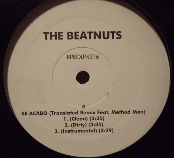 Beatnuts – Se Acabo Remix (VLS) (1999) (192 kbps)