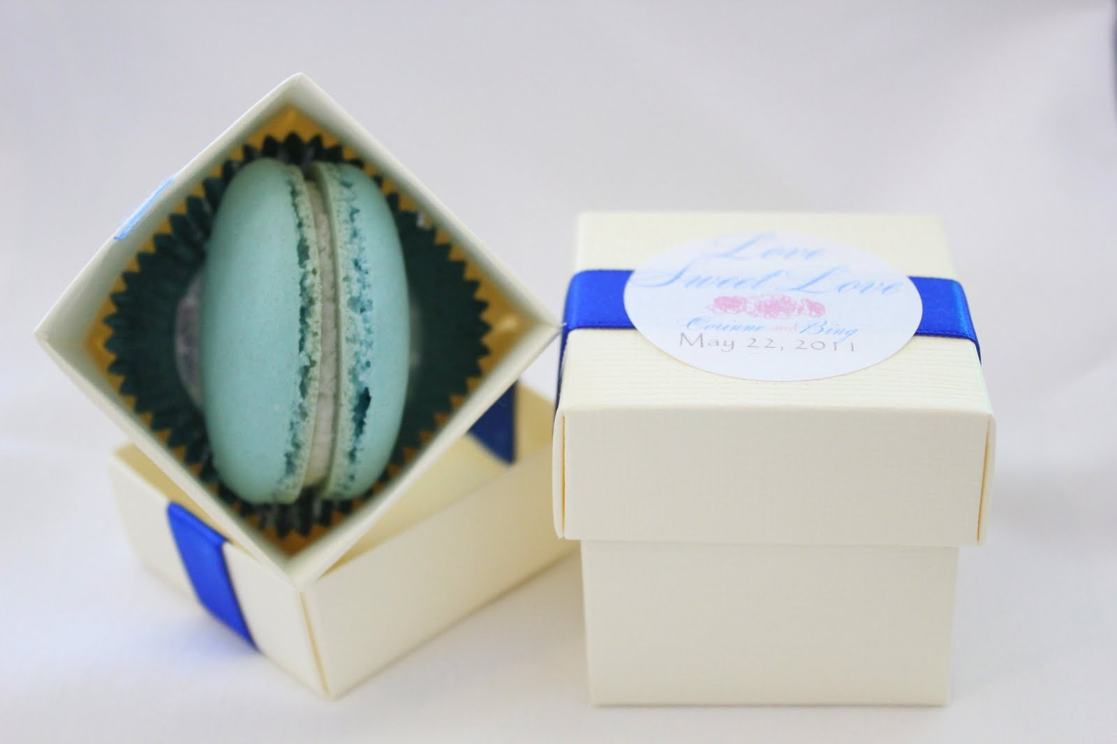 macaron wedding favors - Wedding Decor Ideas