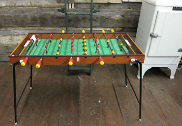 BBBlog Italianmade Arcofalc Foosball Table - Italian foosball table