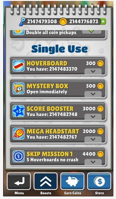 download subway unlimited coins and keys