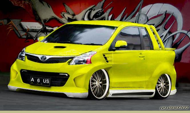 Modified Car Toyota Avanza Lautoshow Cars