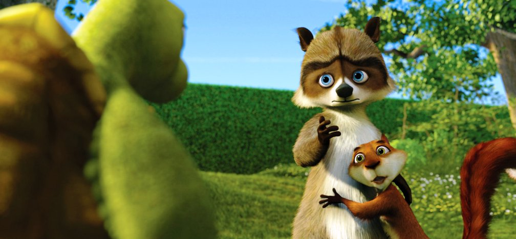 Over the hedge hammy
