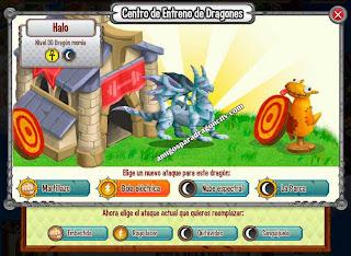 imagen de los ataques del dragon momia