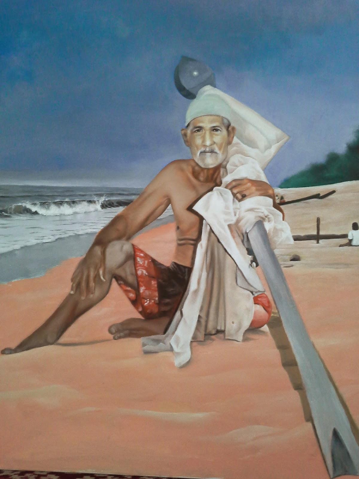 Potret Atuk Di Tepi Laut