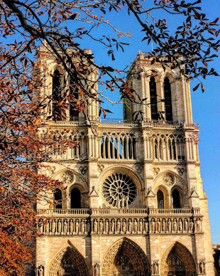 Notre Dame Paris Fall