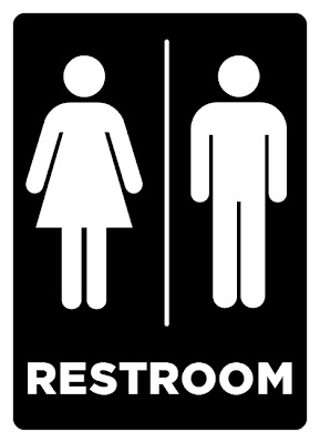 The Sketchpad Restroom ADA Sign