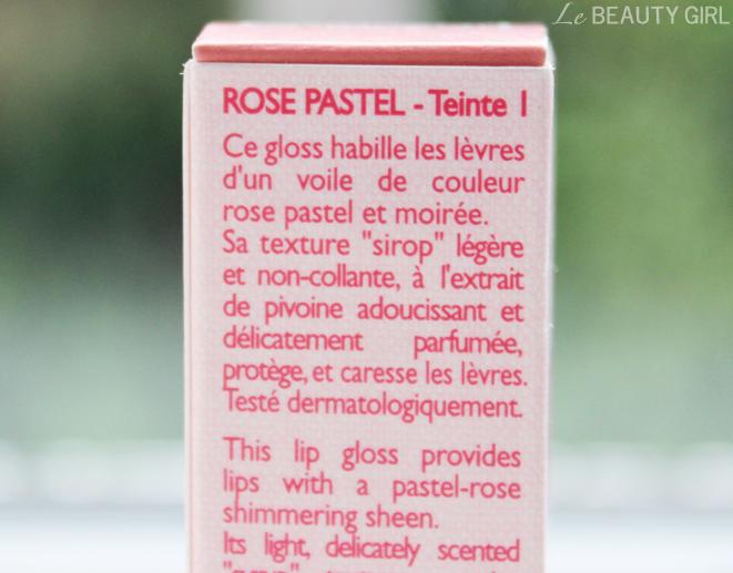 Loccitane Pivoine Delicate Lip Shine Rose Pastel