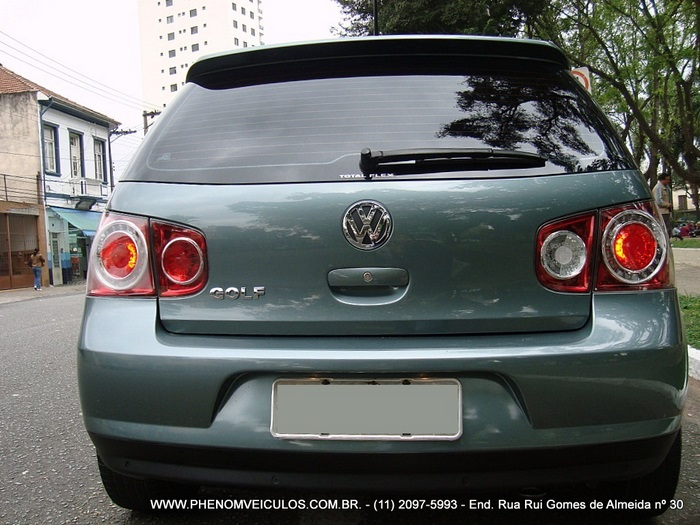 Volkswagen Golf Sportline 2010 - traseira