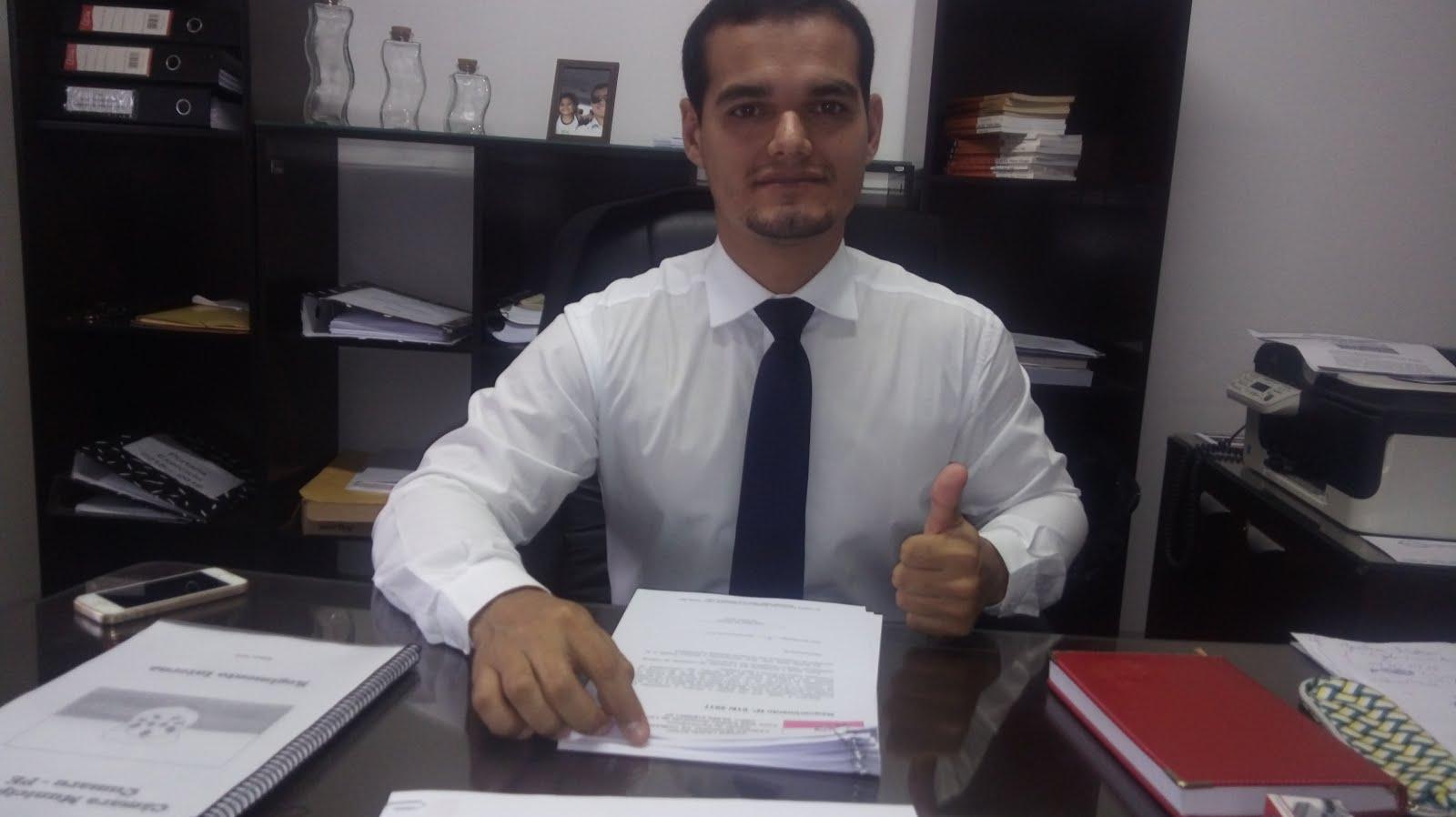 Presidente da Camara Antonio Americo