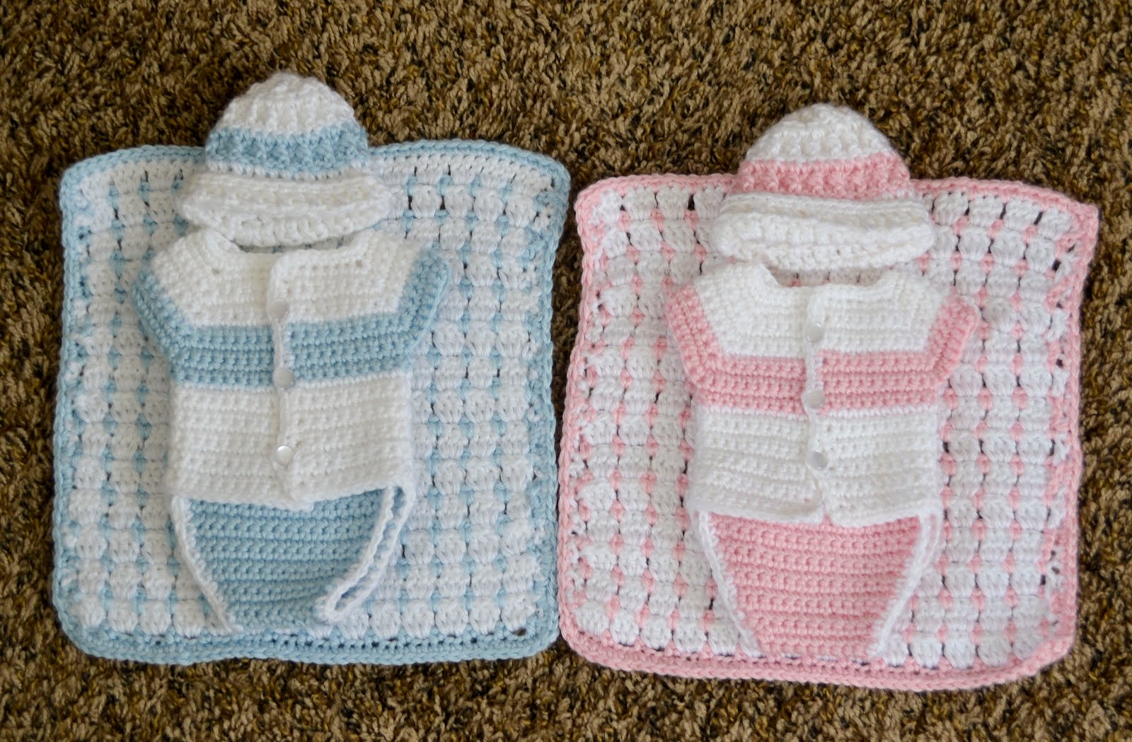 Free Crochet Patterns For Baby Pram Blankets : Love you more than a bus: Angel Baby Blanket pattern