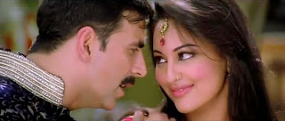 Still of Chamak Challo Chel Chabeli Song -- Akshay Kumar and Sonakshi Sinha