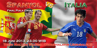 Live Streaming Italia U21 vs Spanyol U21
