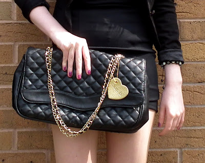 Sammi Jackson - Marc b by Marc Jacobs black quilted bag