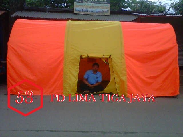 jual tenda dome lorong , murah , pusat tenda bandung