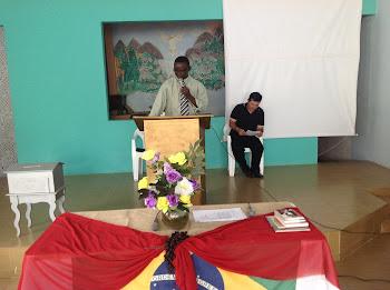 Orador Oficial da 21º Assembleia anual da ABENB Pr. Messias Santos Silva