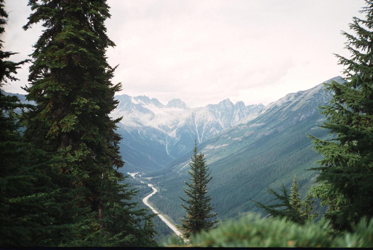 Genuine Hairstyles Glacier National Park US High
