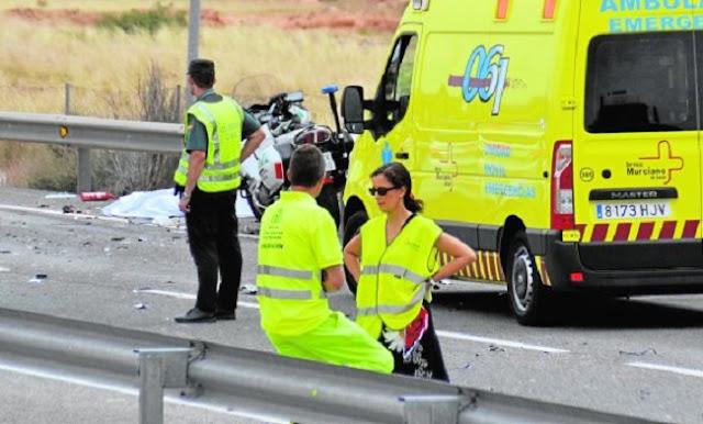 Sucesos fallece guardia civil de tr fico de camino a un - Guardia civil trafico zaragoza ...