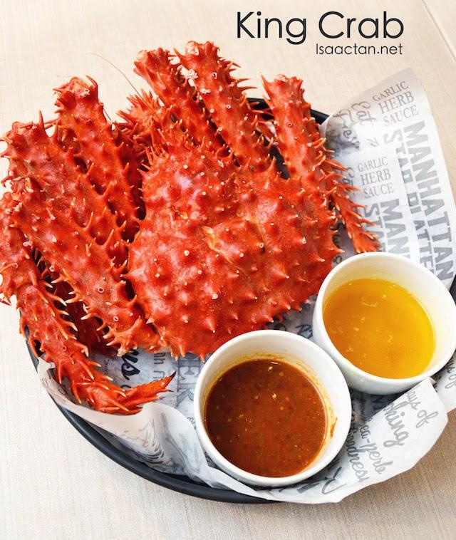 King Crab - 1.2kg (RM109.90)