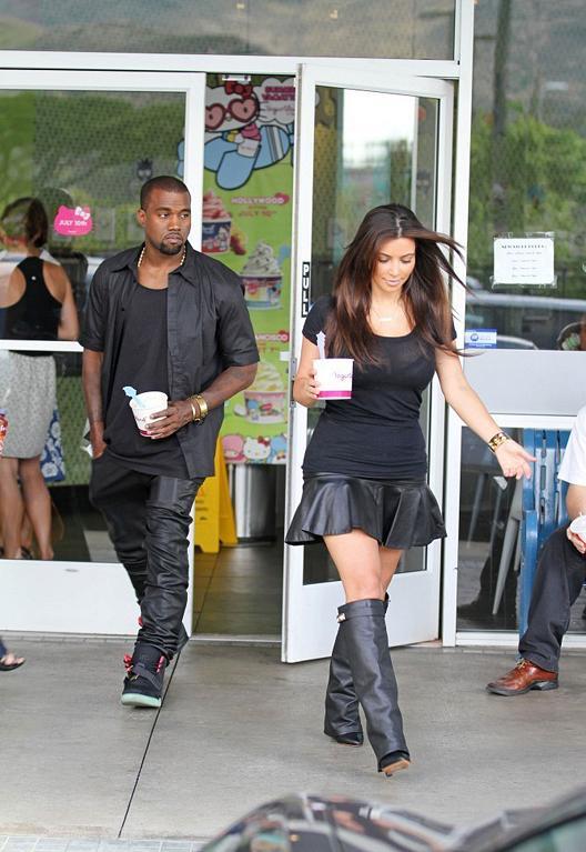 kim kardashian street style 2012 krazy fashion rocks