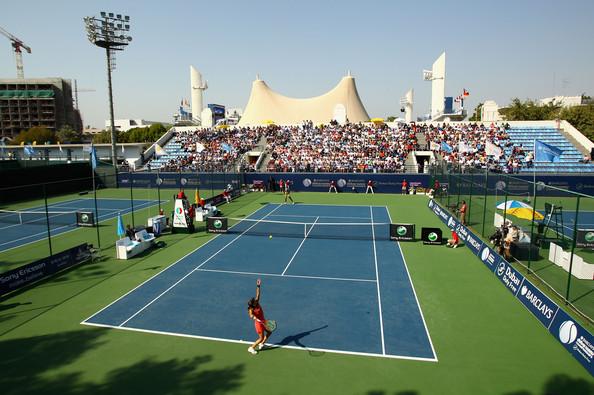 Barclays dubai duty free tennis championships women