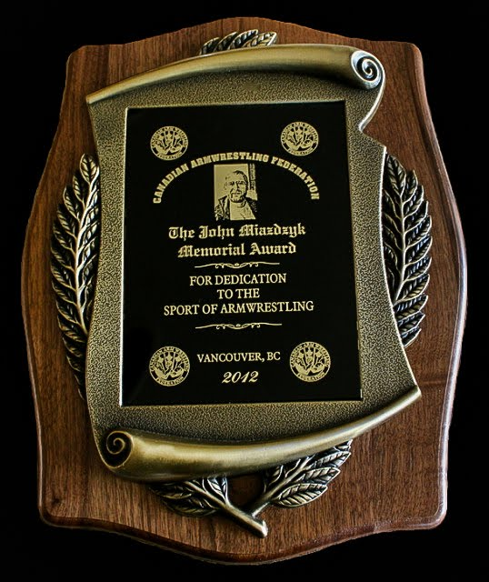 John Miazdzyk Award - Laureates
