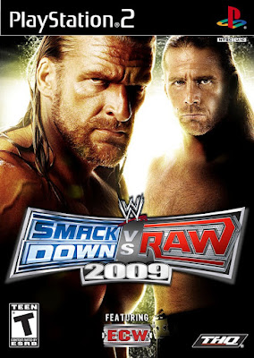 Download WWE Smackdown Vs Raw 2009 Game For PC