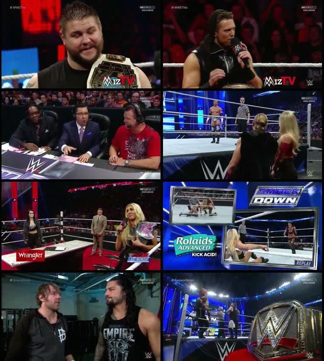 WWE Thursday Night Smackdown 19 Nov 2015 HDTVRip 480p