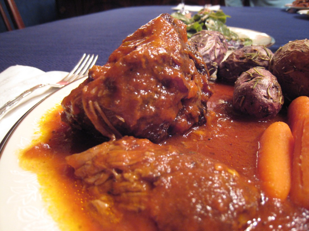 Global Grub: Kokkinisto (Greek Braised Red Lamb with Tomatoes)