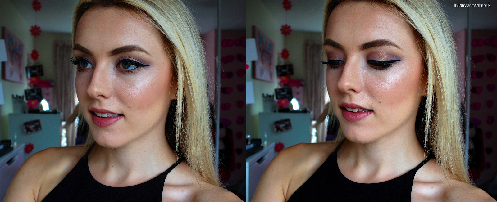 Purple & Gold Eye Makeup Tutorial: Inspired by Dixiewolff