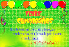 Frases Para Cumpleaños: Feliz Cumpleaños Dios Te Bendiga, Te Cuide
