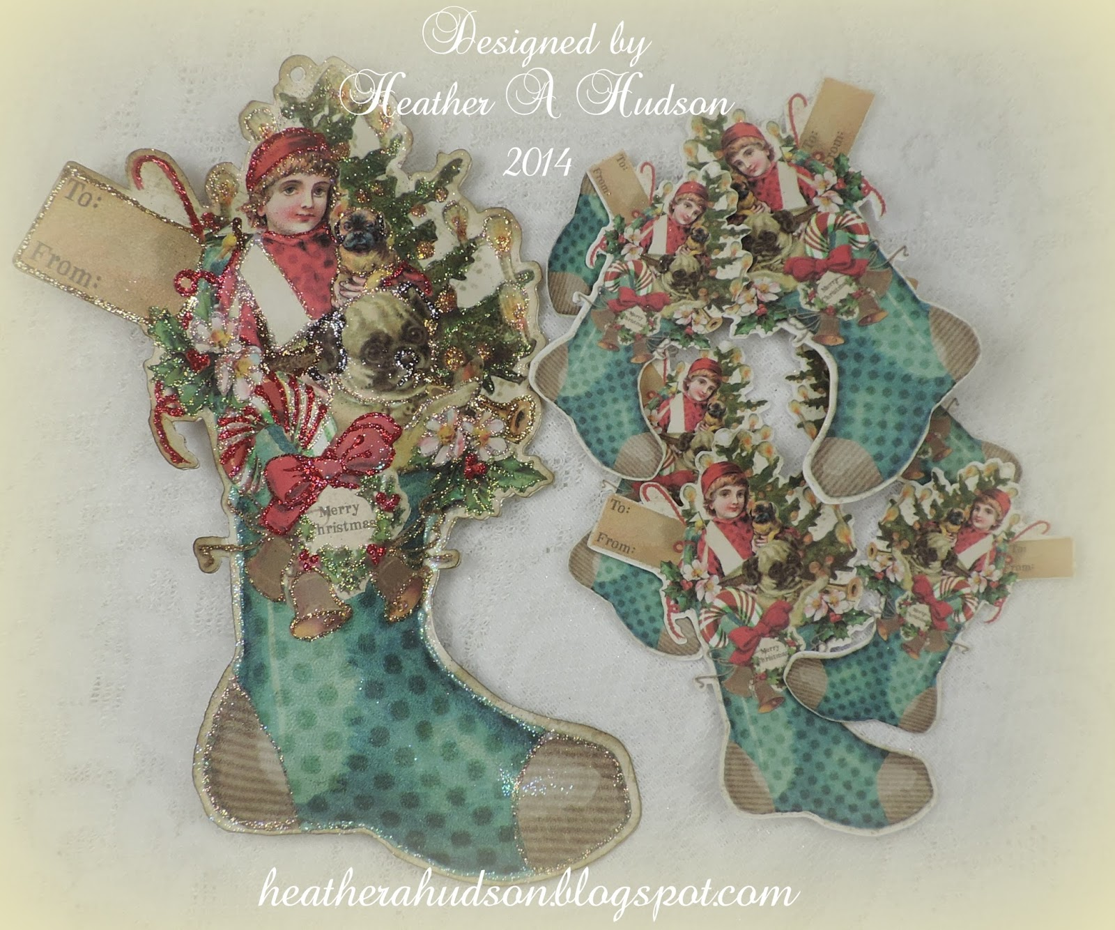 Victorian christmas ornaments - Victorian Christmas Boot Ornaments That Are Girly Pink Vintage White Victorian Blue And Traditional Red