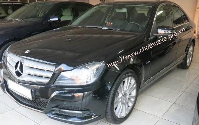 Cho thuê xe Mercedes C250 hạng sang - Đức Vinh Trans