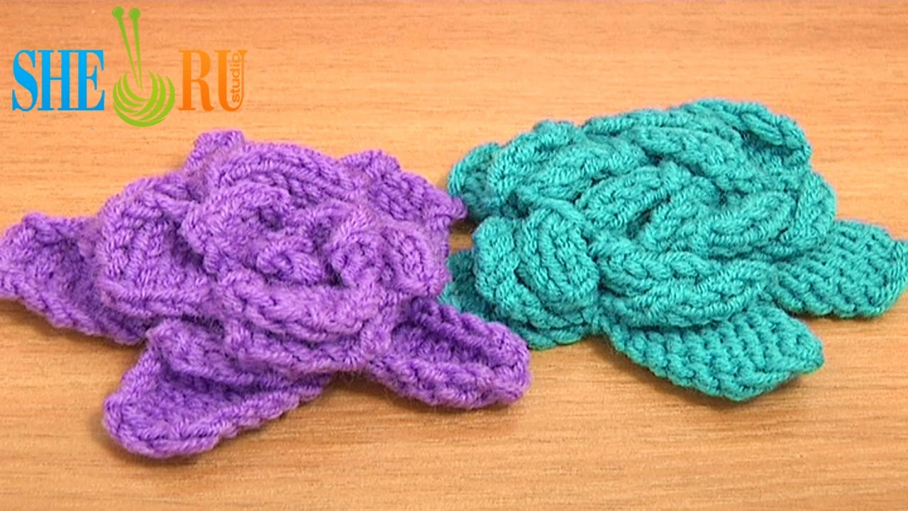 Sheruknitting 2014 see more knitted flower patterns free rose knitting pattern easy knitting flower patterns for beginners learn to knit flowers knitted roses bankloansurffo Gallery