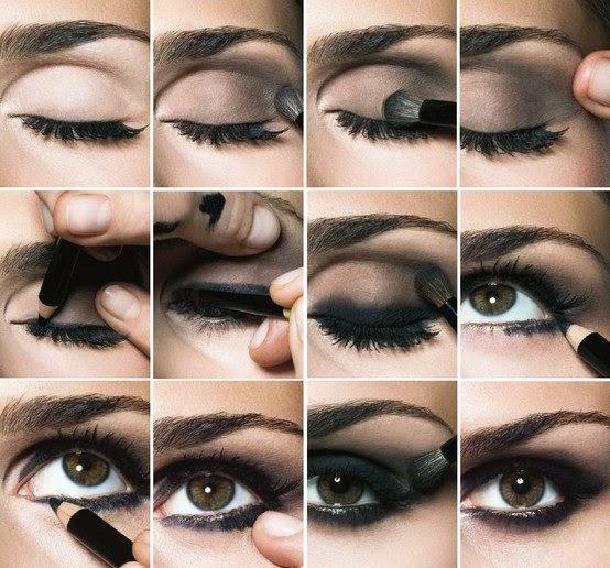 Cara Memakai Eyeshadow Smokey Eyes Yang Benar