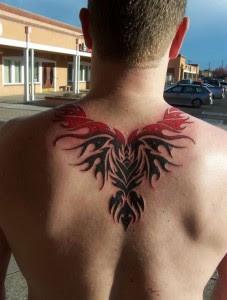 desenhos de tatuagens de fênix