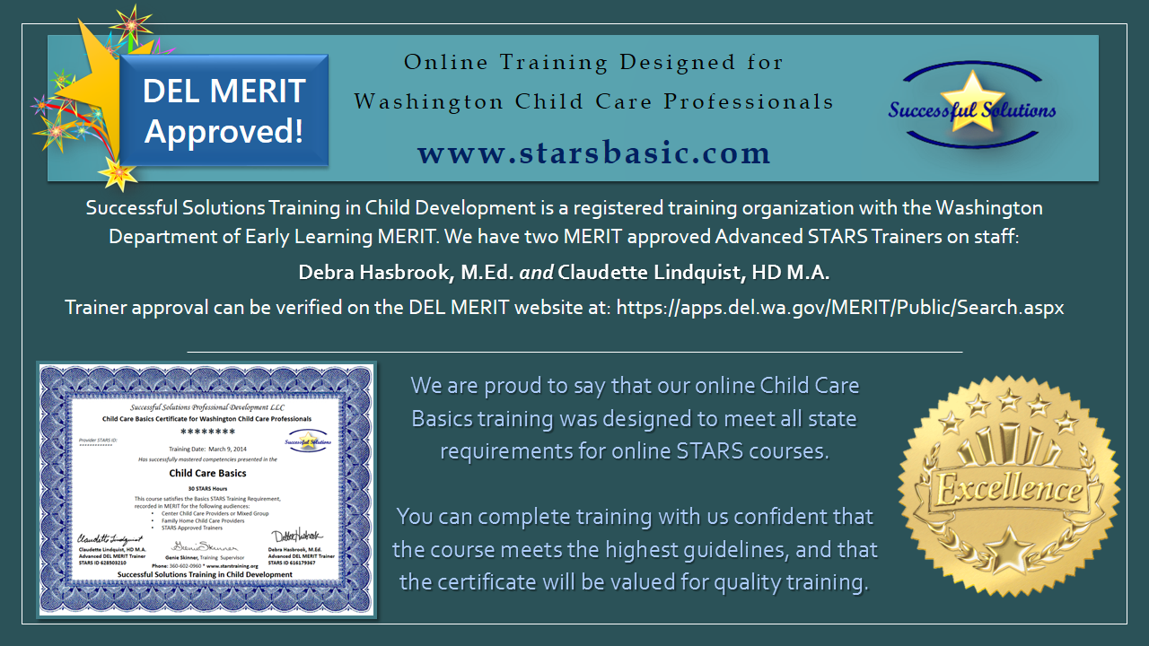 Online Child Care Basics STARS Basic
