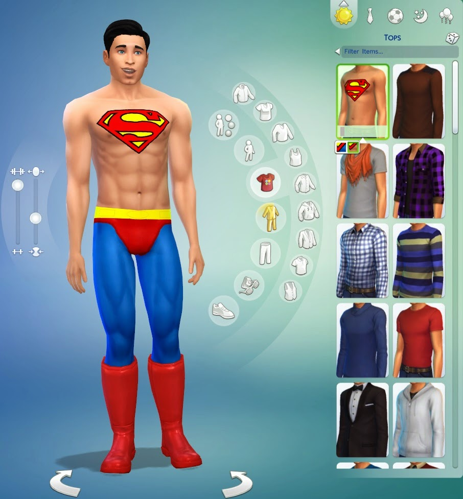 My sims 4 blog sims 4 superman outfit by guidion