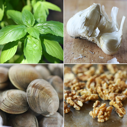 ... Cooking and get this clams with basil pesto recipe at Project Foodie