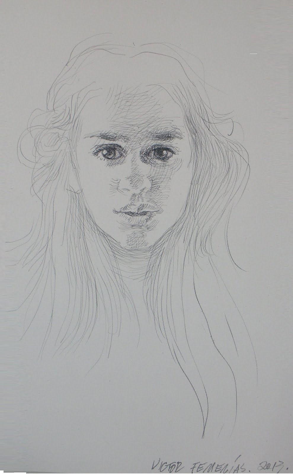 Estudio para un retrato de Rosalila