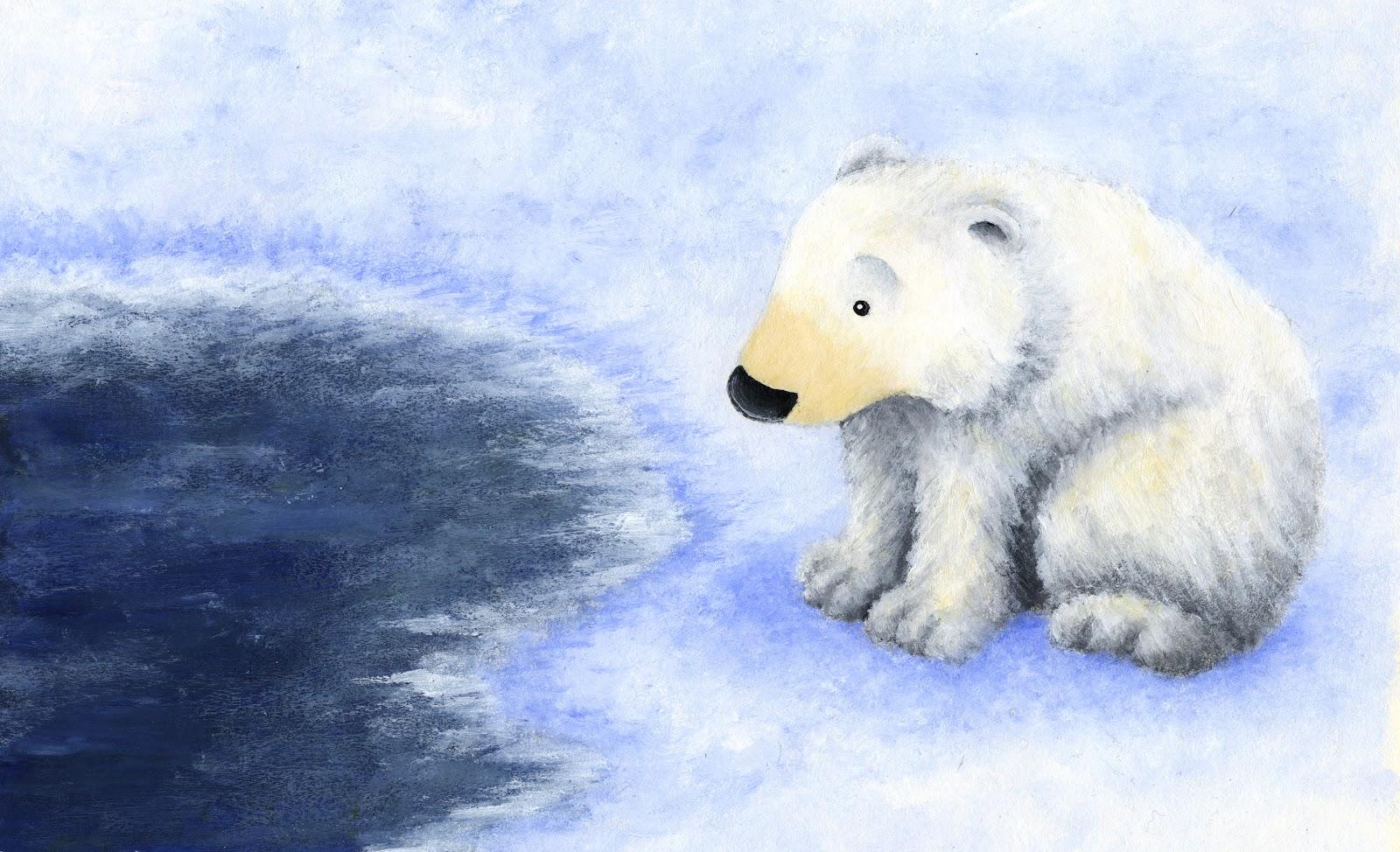 Natalie Simonis Illustration: Polar Bears