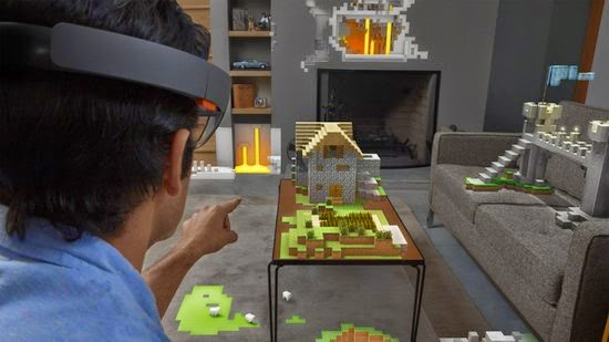 Minecraft on HoloLens