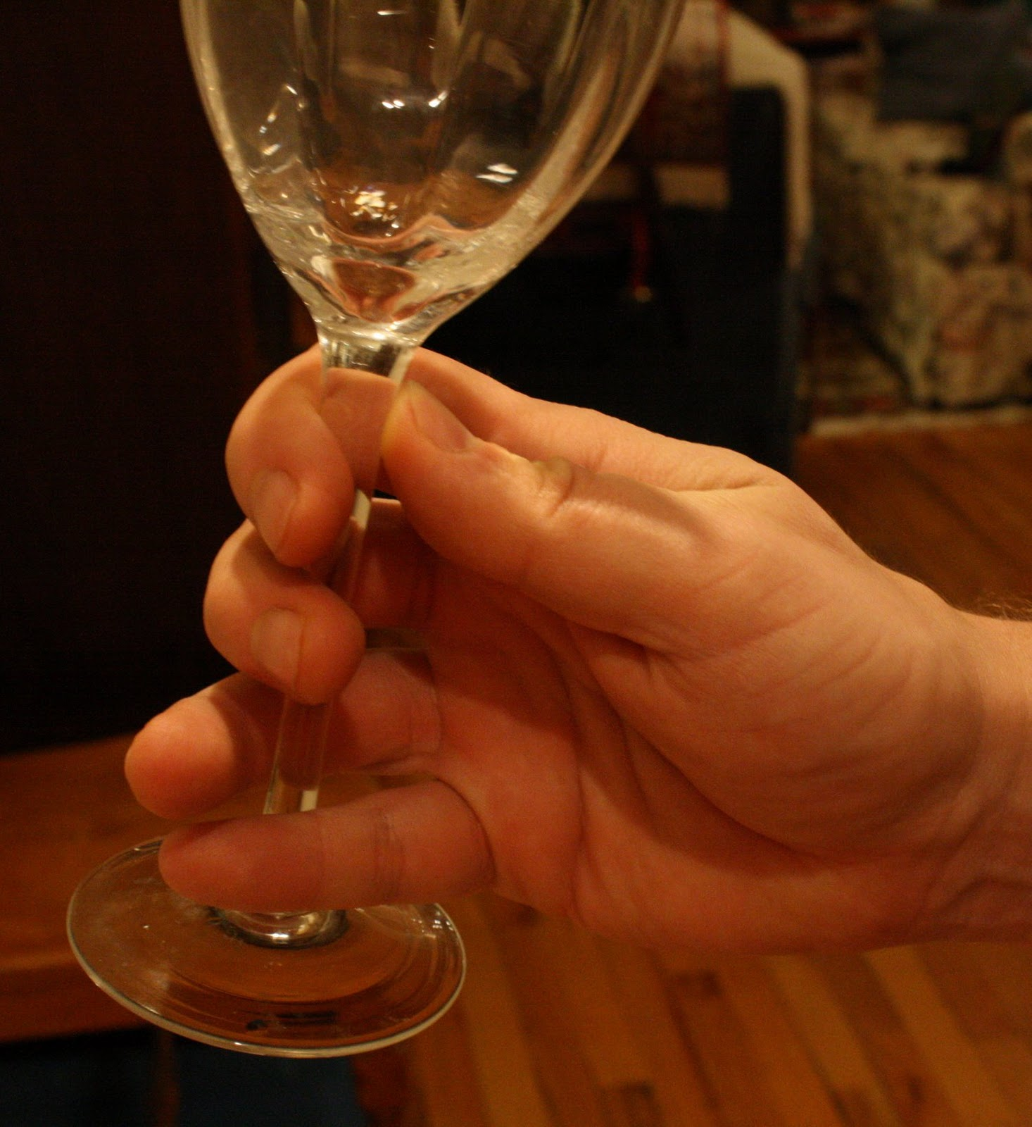 Speaking the local vinacular how to hold a wine glass properly a common way to hold the glass ccuart Gallery