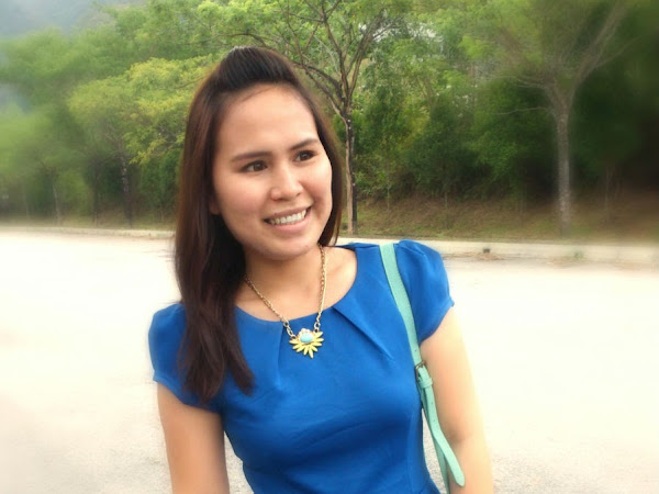 Outfit Diary : Royal Blue Dress +Statement Necklace