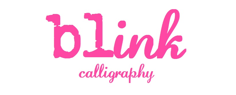 Blink Calligraphy