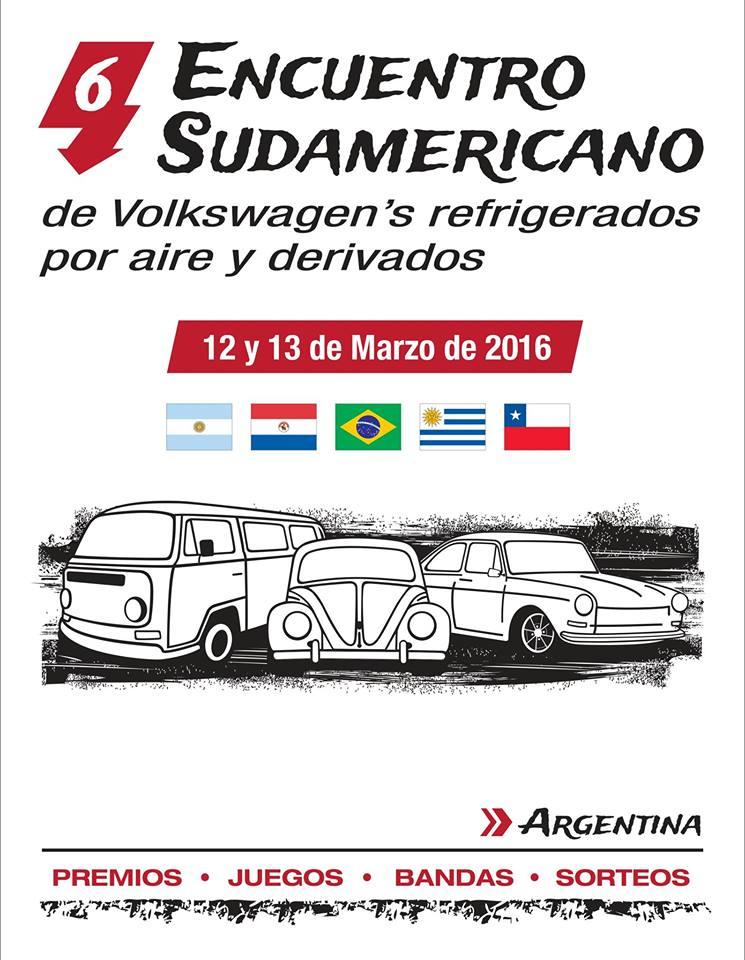 Asi pasamos el 6to Encuentro Sudamericano Argentina