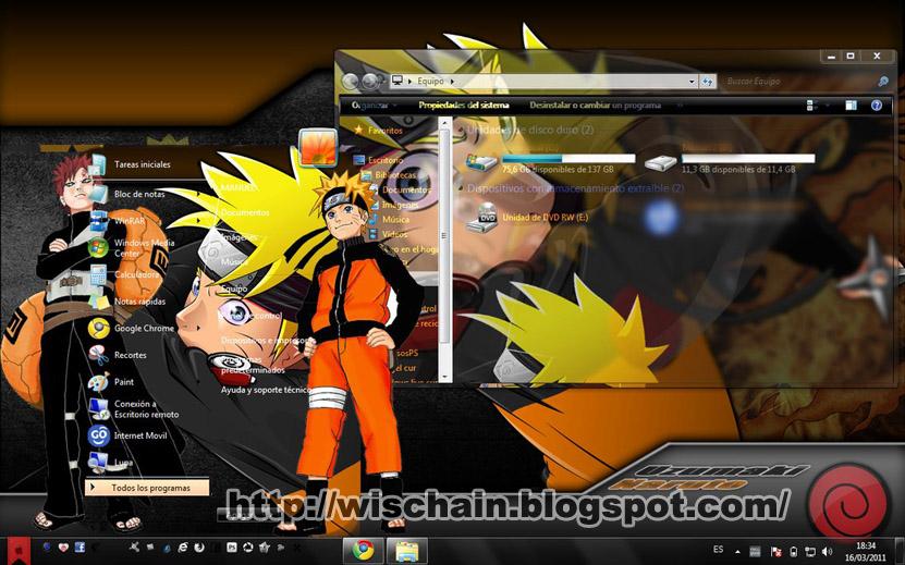 Themes download naruto