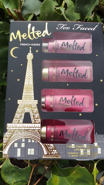 Too Faced Melted French Kisses set www.modenmakeup.com