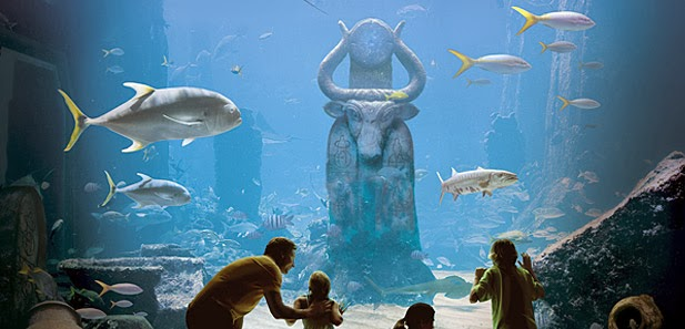 The Dig at Atlantis Paradise Island : PROJECT 2014 - Over de plas: Cruise excursies...